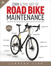 """Zinn & the Art of Road Bike Maintenance"" is the world's best-selling guide to bicycle repair and maintenance. From basic repairs like how to fix a flat tire to advanced overhauls of drivetrains and brakes, Lennard Zinn's clearly illustrated guide makes every bicycle repair and maintenance job easy for everyone. Lennard Zinn is the world's leading expert on bike maintenance and repair. His friendly step-by-step guide explains the tools you'll need and how to know you've done the jo"