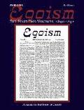 Egoism: The First Two Volumes 1890-1892