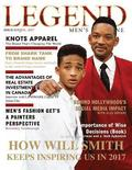 Legend Men's Magazine: Will Smith Inspires in 2017