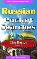 Russian Pocket Searches - The Basics - Volume 4: A Set of Word Search Puzzles to Aid Your Language Learning