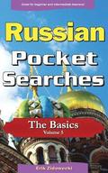 Russian Pocket Searches - The Basics - Volume 5: A Set of Word Search Puzzles to Aid Your Language Learning
