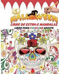 Halloween Libre De Estrés Mandalas Libro Para Colorear