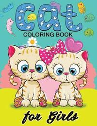 Cat Coloring Books for Girls: Kitten Coloring Book for Girls and Kids Ages  4-8, 8-12 av Balloon Publishing (Häftad)