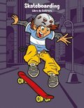 Skateboarding Libro da Colorare 1