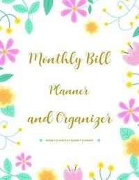 expense tracker organizer finance monthly weekly budget planner