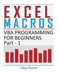 Excel Macros: VBA Programming for Beginners Part 1