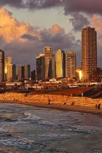 Tel Aviv Israel at Sunset Journal: 150 lined pages, softcover, 6 x 9