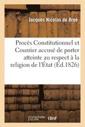 Proc�s Du Constitutionnel Et Du Courrier Tendance Respect D� � La Religion de l'�tat