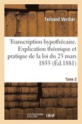 Transcription Hypoth caire Tome 2