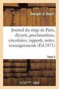 Journal Du Si ge de Paris