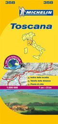 Toscana - Michelin Local Map 358