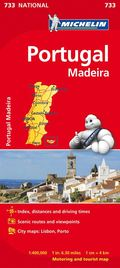 Portugal &; Madeira - Michelin National Map 733