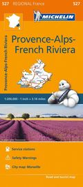 Provence- Alps - French Riviera - Michelin Regional Map 527