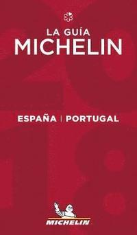 Michelin Guide Spain/Portugal (Espana/Portugal) 2018