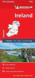 Ireland - Michelin National Map 712