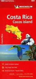 Michelin Costa Rica Map 804