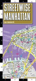 Streetwise Manhattan Map - Laminated City Center Street Map of Manhattan, New York