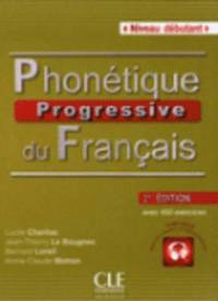 Phonetique progressive 2e  edition