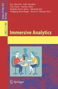 Immersive Analytics
