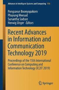 Recent Advances in Information and Communication Technology 2019