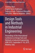 Design Tools and Methods in Industrial Engineering