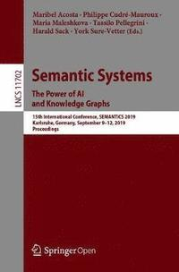 Semantic Systems. The Power of AI and Knowledge Graphs