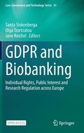 GDPR and Biobanking