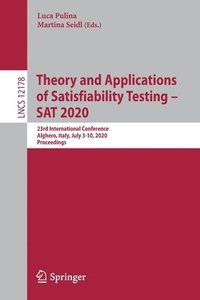 Theory and Applications of Satisfiability Testing - SAT 2020