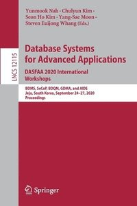 Database Systems for Advanced Applications. DASFAA 2020 International Workshops