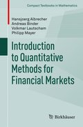 Introduction to Quantitative Methods for Financial Markets