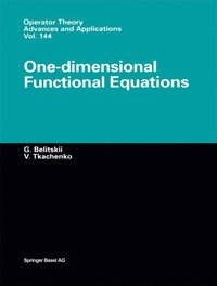 One-dimensional Functional Equations