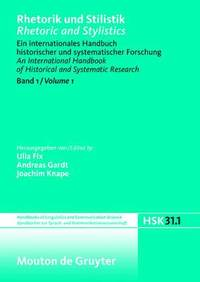 Rhetorik Und Stilistik / Rhetoric and Stylistics