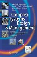 Complex Systems Design &; Management