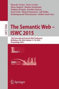 The Semantic Web - ISWC 2015