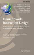 Human Work Interaction Design: Analysis and Interaction Design Methods for Pervasive and Smart Workplaces