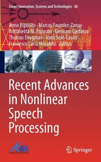 Recent Advances in Nonlinear Speech Processing