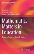 Mathematics Matters in Education