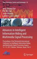 Advances in Intelligent Information Hiding and Multimedia Signal Processing