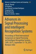 Advances in Signal Processing and Intelligent Recognition Systems