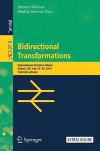 Bidirectional Transformations