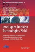 Intelligent Decision Technologies 2016