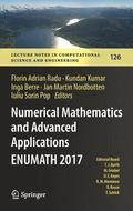 Numerical Mathematics and Advanced Applications ENUMATH 2017