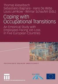 Coping with Occupational Transitions
