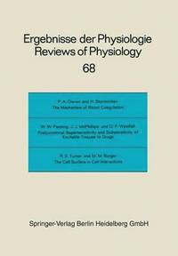 Reviews of Physiology, Biochemistry and Experimental Pharmacology