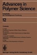 Advances in Polymer Science: 12