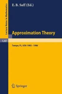 Approximation Theory. Tampa