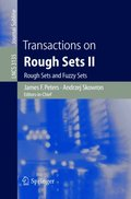 Transactions on Rough Sets II
