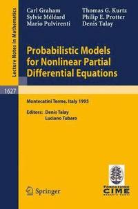 Probabilistic Models for Nonlinear Partial Differential Equations
