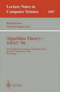 Algorithm Theory - SWAT '96