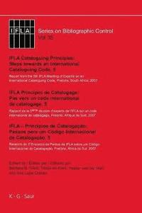 IFLA Cataloguing Principles: Steps towards an International Cataloguing Code, 5